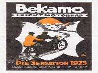 Bekamo Leicht Motorrad - Die Sensation 1923