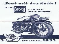 Dem STOCK Kardan die Zukunft - 3 Schlager für 1933