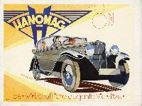 Hanomag 18 PS - der wirtschaftliche elegante Viersitzer