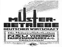Musterbertriebe deutscher Wirtschaft - NSU