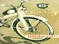 NSU Quickly Betriebsanleitung