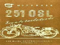 NSU 251 OSL Ersatzteilliste