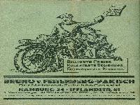 Bruno v. Festenberg-Pakisch - Der Motorrad-Grossist 1931/32