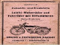 Bruno v. Festenberg-Pakisch - Leicht-Motorräder und Fahrräder
