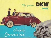 Der grosse DKW 3=6 Coupé Limosine