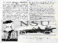 NSU - Die Zeit zu origineller, auffallender Reklame