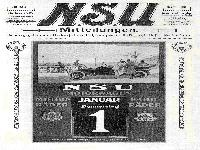 NSU Mitteilungen Dezember 1913