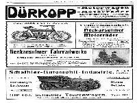 Dürkopp, NSU, Scheibler - Werbung