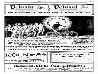 NSU - Ältestes renommiertestes Fabrikat - Werbung 1903