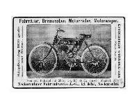 NSU - Fahrräder, Bremsnaben, Motorräder, Motorwagen.