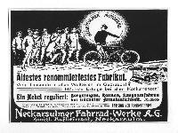 NSU - Ältestes renommiertestes Fabrikat - Werbung