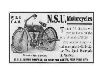 NSU Motorcycles 3 1/2 HP F.A.M.