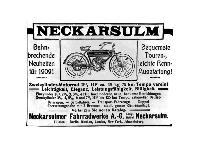 NSU - Bahnbrechende Neuheiten für 1909
