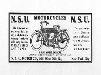 N.S.U. Motorcycles - 4 H.P. Model De Luxe