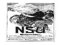NSU Motorräder 1912