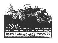NSU Motorräder 1913