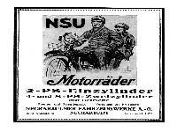 NSU - Motorräder 1922