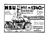 NSU 1925 - 11 PS, 500 ccm