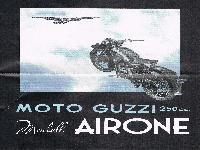 MotoGuzzi Modell AIRONE 250 cc.