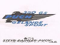 PUCH 350 GS Gelände-Sport