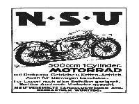 NSU 500 ccm 1 Cylinder