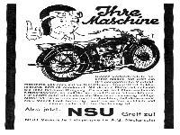 NSU - Ihre Maschine
