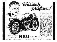 NSU - Kritisch prüfen!