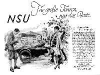 NSU - Für große Touren nur das Beste