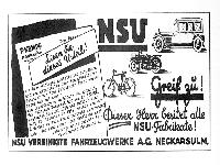 NSU - Urteil