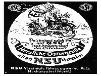 NSU Ostergrüße