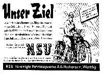 NSU - Unser Ziel