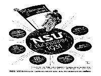 Das NSU Programm 1931