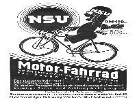 NSU Motor-Fahrrad