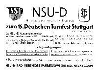 NSU-D Motorradfahrer