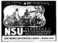 Die guten NSU-Maschinen