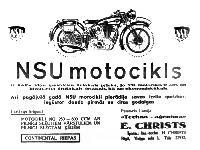 NSU motocikls