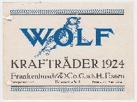 WOLF - Krafträder 1924