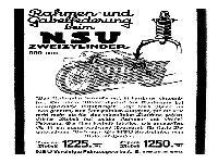 NSU Zweizylinder