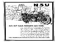 NSU - So ist das Reisen schön!