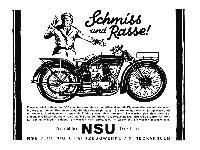 NSU - Schmiss und Rasse!