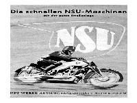 Die schnellen NSU-Maschinen
