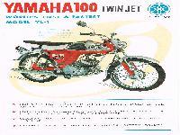 Yamaha 100 Twin Jet