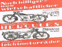 HERCULES Leichtmotorräder