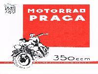 Motorrad PRAGA 350 ccm