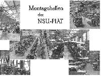 Montagehallen der NSU-FIAT
