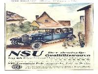 NSU deutsche Qualitätswagen