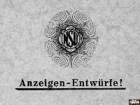 NSU Anzeigen-Entwürfe