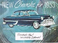New Chevrolet for 1953