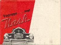 """Vooraan ... met Nash """"600"""" 1946"""