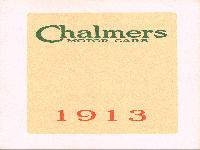 Chalmers Motor Cars 1913